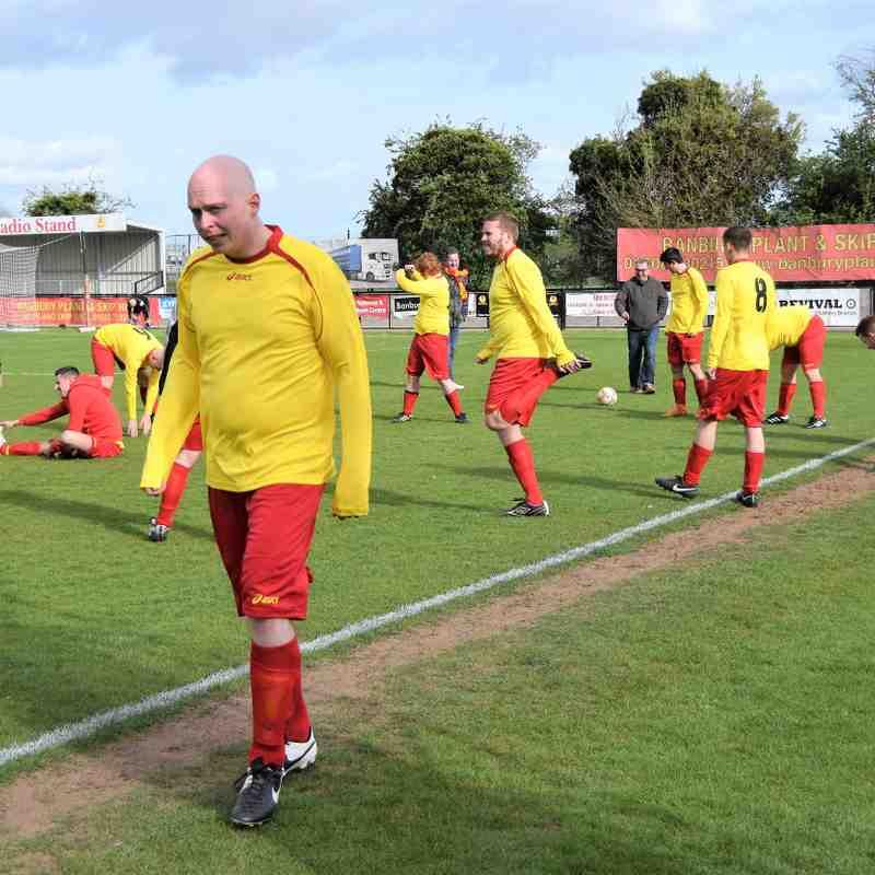 Banbury United Supporters 1 Banbury United Youth Coaches 14