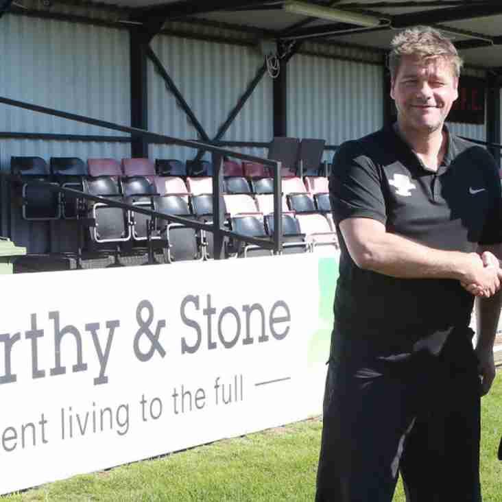 McCarthy & Stone sponsor Cobham Football Club