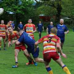 Rugby League Season. Littleborough v Mancunians