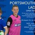 Pompey Ladies Open Trial Day