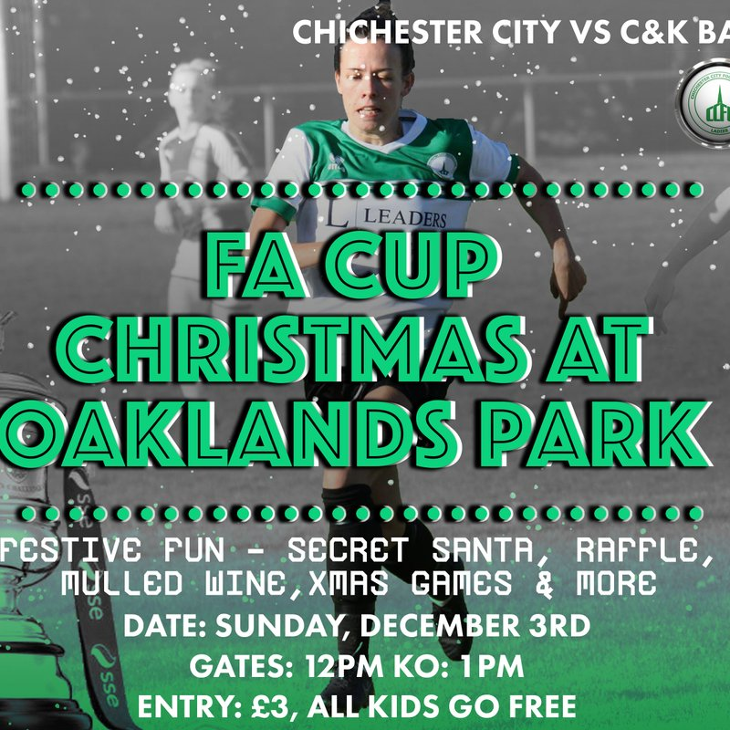 FA CUP: Christmas comes to Oaklands for Basildon game