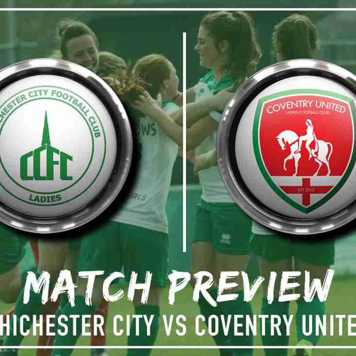 PREVIEW | Three games in eight starts with the visit of Coventry United