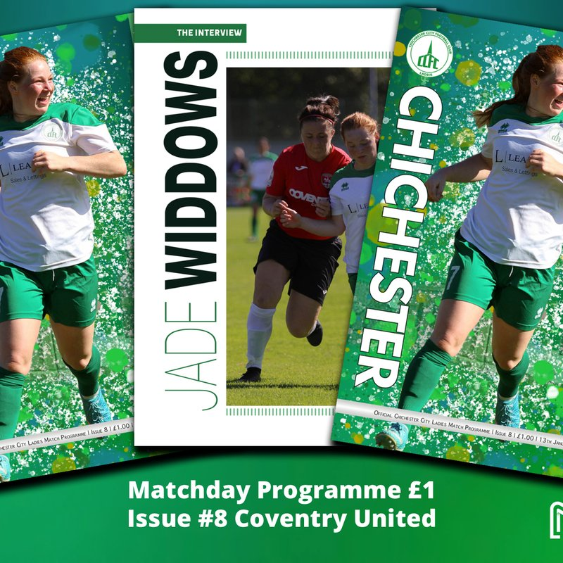 Get the low down on Jade Widdows in Coventry United programme