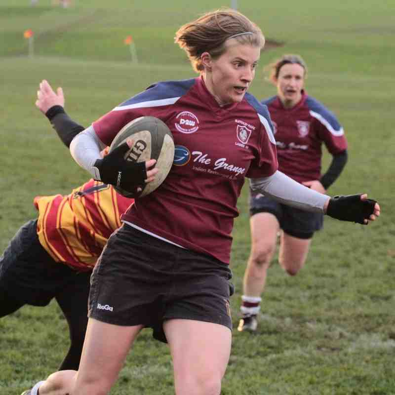 Ladies XV v Medway - 22nd November 2015