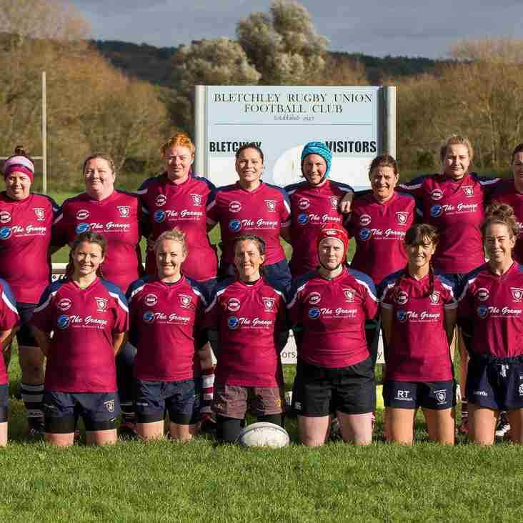Bletchley Ladies top League and take title.