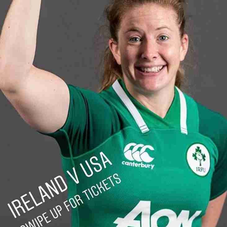 Ex Bletchley Lady player receives Ireland call up