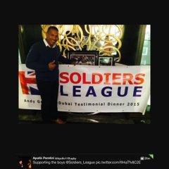 Andrew Gregory Testimonial Dinner  in Dubai