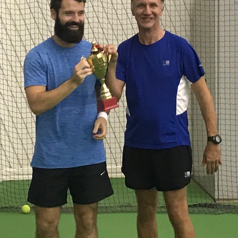 EX PATS IN QATAR PLAYED IN A TENNIS TOURNAMENT FOR SOLDIERS LEAGUE CHARITY