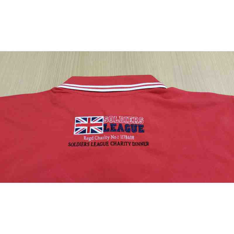 SOLDIERS LEAGUE – ARMY RL Embroidered Premium Classic Fit Polo Shirts.