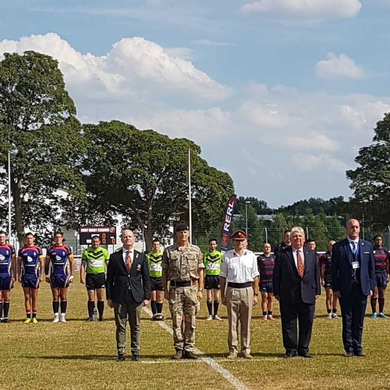 SOLDIERS LEAGUE CHARITY WAS VERY PROUD TO HAVE BEEN PART OF THE ARMYS LAWSON CUP FINALS DAY
