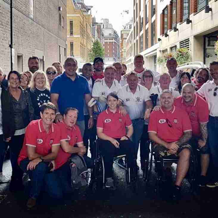 The 2018 Soldiers League Dinner And Subsequent Gathering At The Challenge Cup Final Were A Huge Success