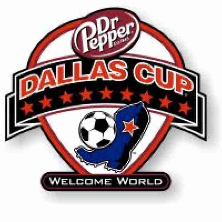 Under 19s embark on Dallas Cup adventure
