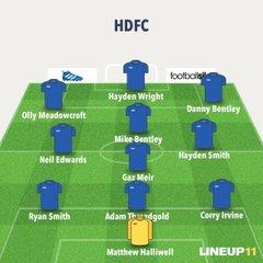 HDFC v Eccleshall FC XI - 30th July 2016