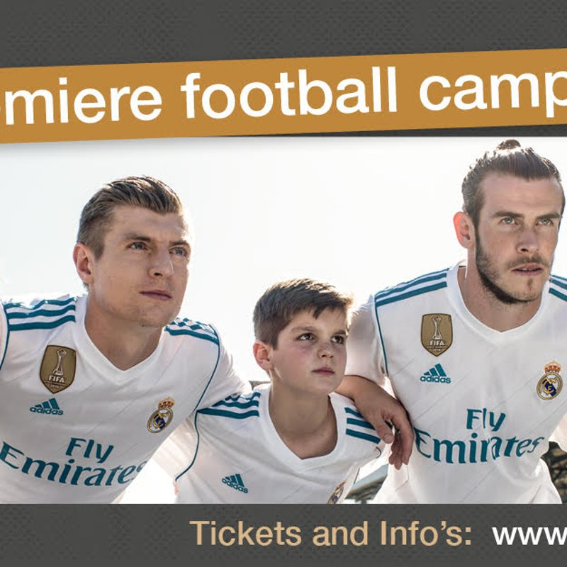 Real Madrid Football Camp Teaser Video!