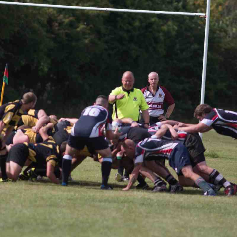 Old Newtonians v Atherstone 22-08-15