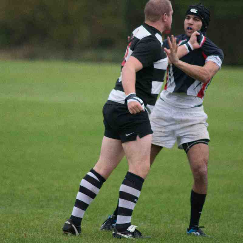 Old Newtonians vs Stewarts & Lloyds 24-10-2015