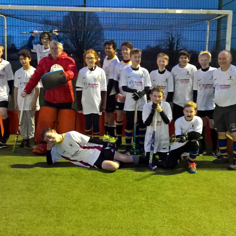 Badgers beat Worcester Hockey Club 1 - 6