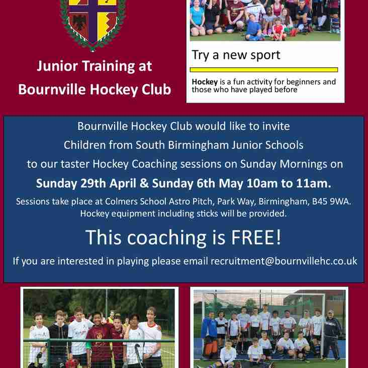 UPCOMING YOUTH TRAINING AT COLMERS SCHOOL