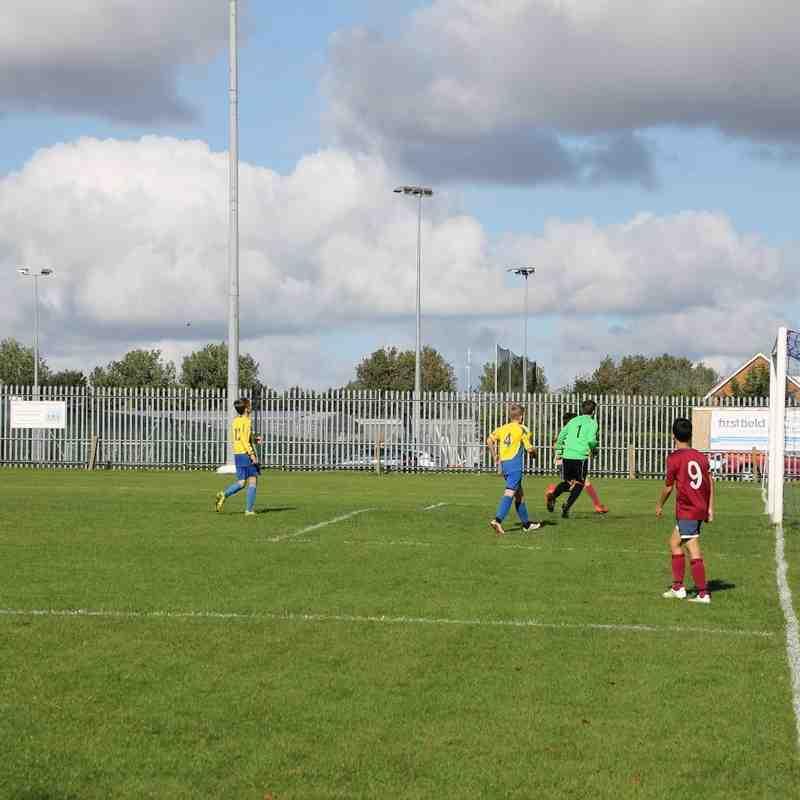 vs Terrington Tigers County Cup Fixture