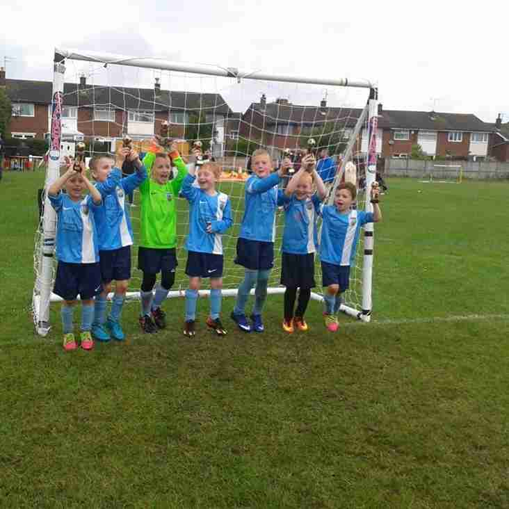 HRFC U7 Win Aston Park Rangers Tournament