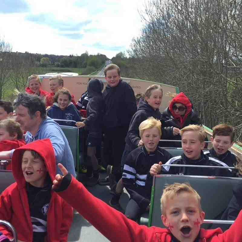 Under 9s Dorset Tour 2016