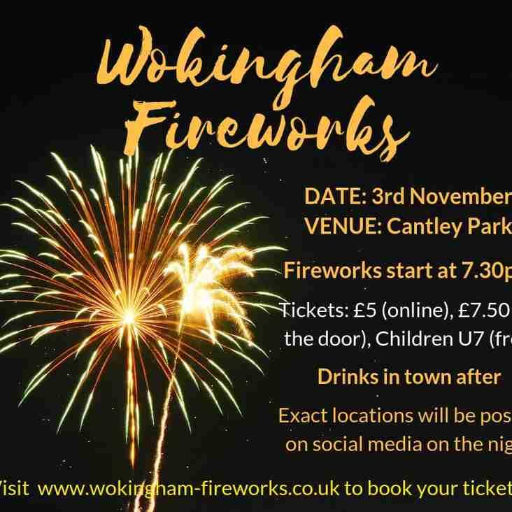 Wokingham Fireworks!