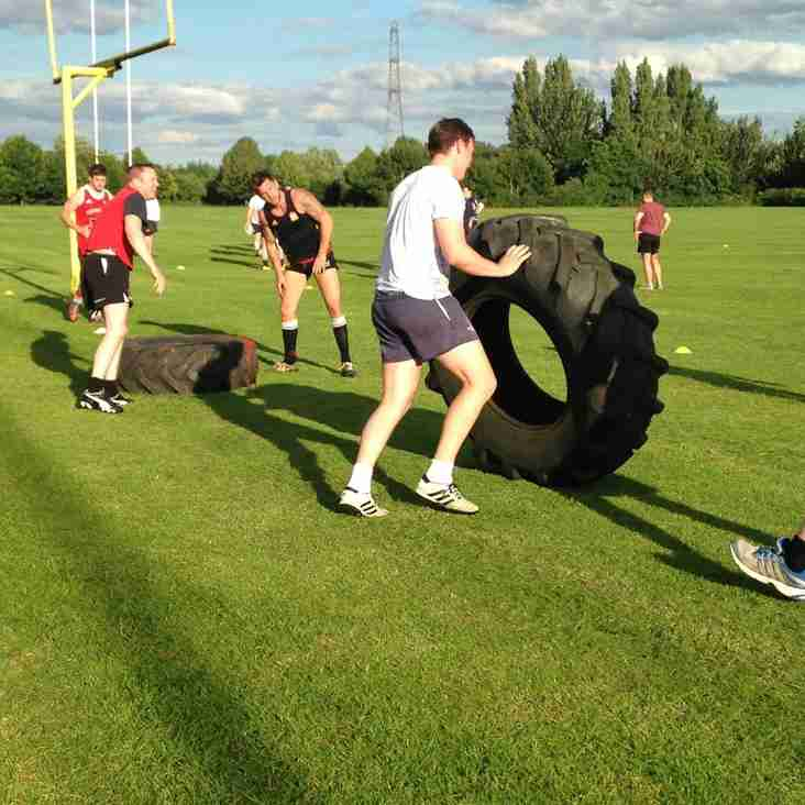 Training and Social Tuesday 12th July