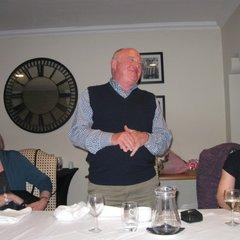 Bob Scott presentation dinner