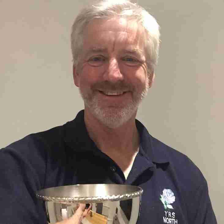 Reg Coultas Bowl for services to local Rugby Refereeing
