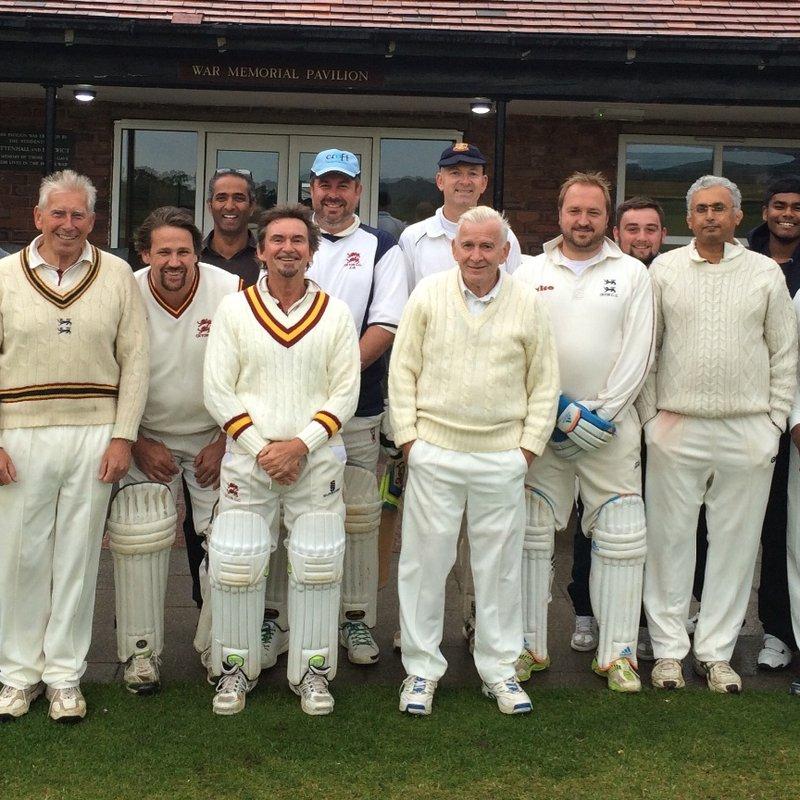 Oxton CC, Cheshire - Veterans 100/1 - 99/6 Upton CC, Cheshire - Over 40s