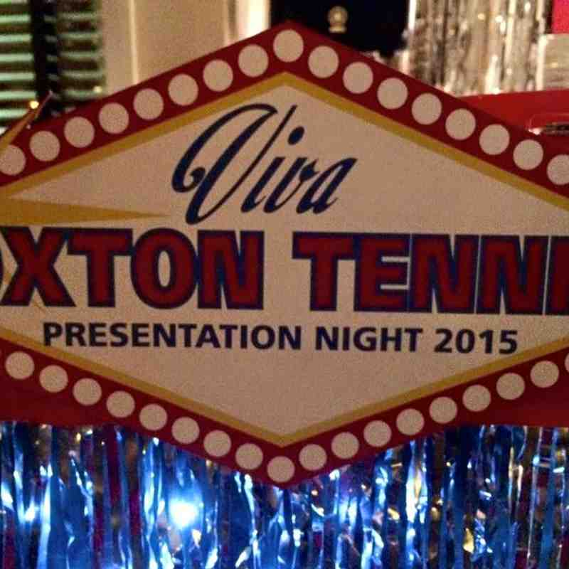 Tennis Presentation Night