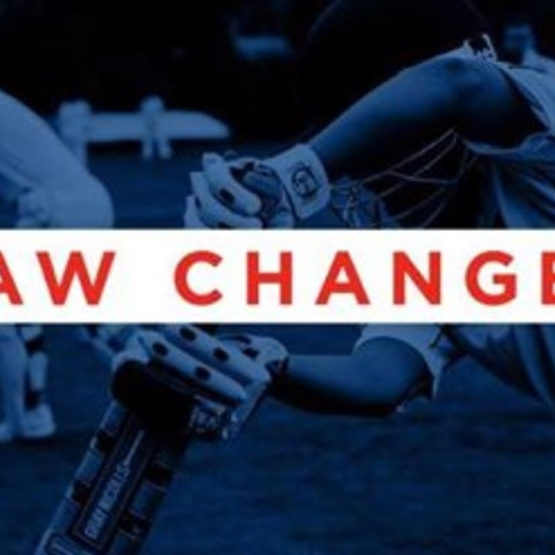 New Law Changes for 2018 Season