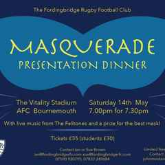 End of Season Masquerade Ball
