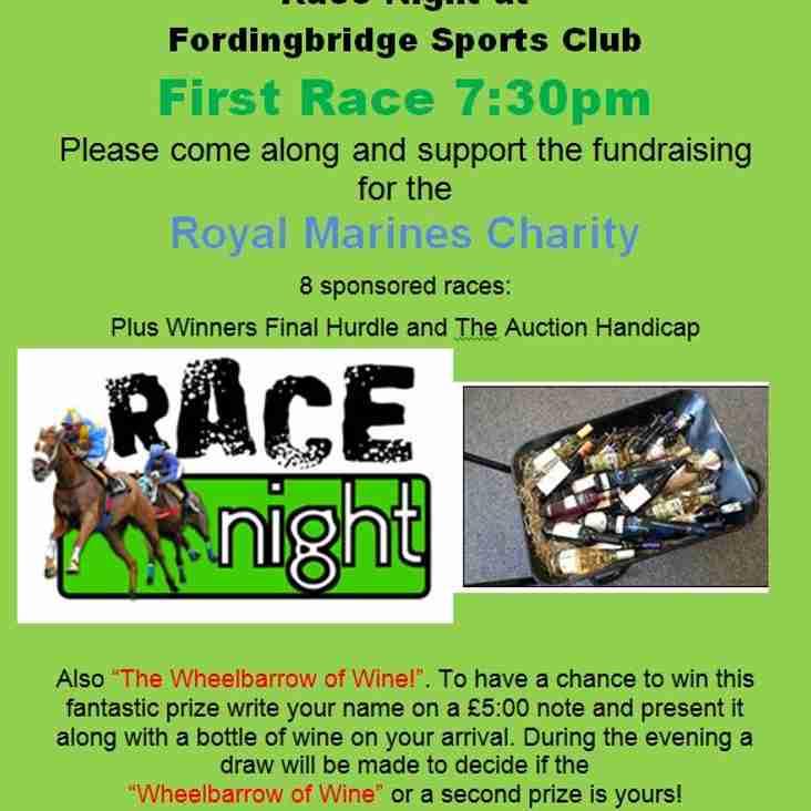 Race Night at Fordingbridge Sports Club