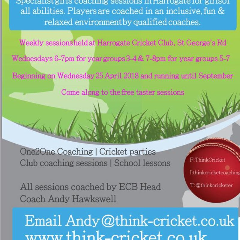 Specialist Girls Cricket Coaching