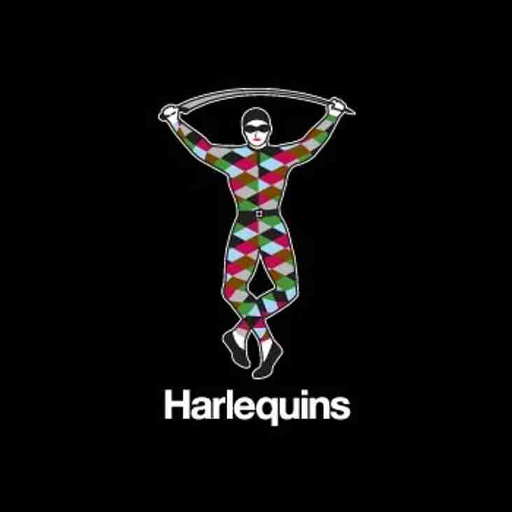 LEARN TO PLAY THE HARLEQUINS WAY - EASTER TRAINING CAMP