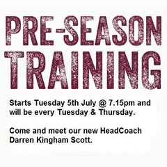 Senior Pre-season has started