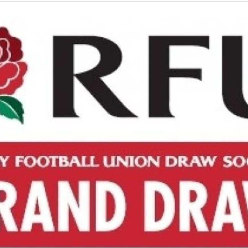 CALLING ALL MEMBERS - RFU GRAND DRAW TICKETS ON SALE NOW!!!