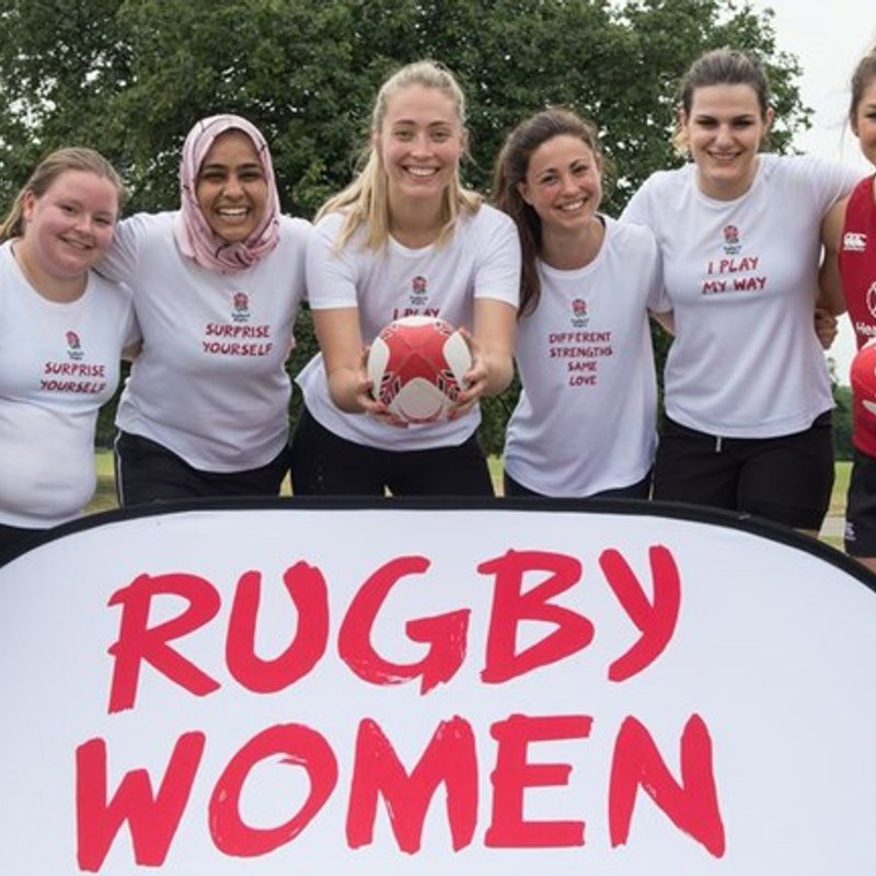 WINCHESTER RFC WOMEN WIN RFU PITCH UP & PLAY EVENT