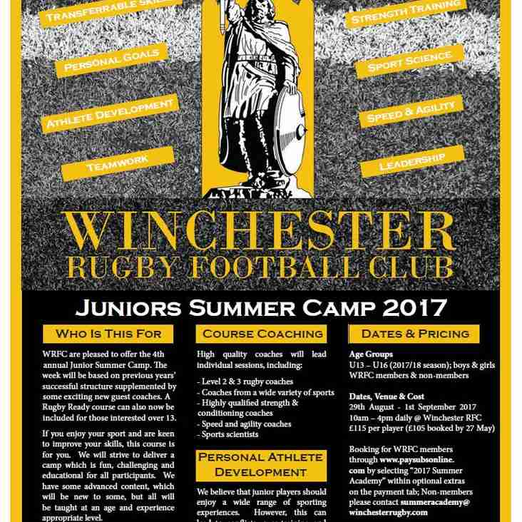 """SUMMER ACADEMY BOOKING UP FAST - DON""""T MISS OUT; AVAILABLE FOR ALL U13-U16."""