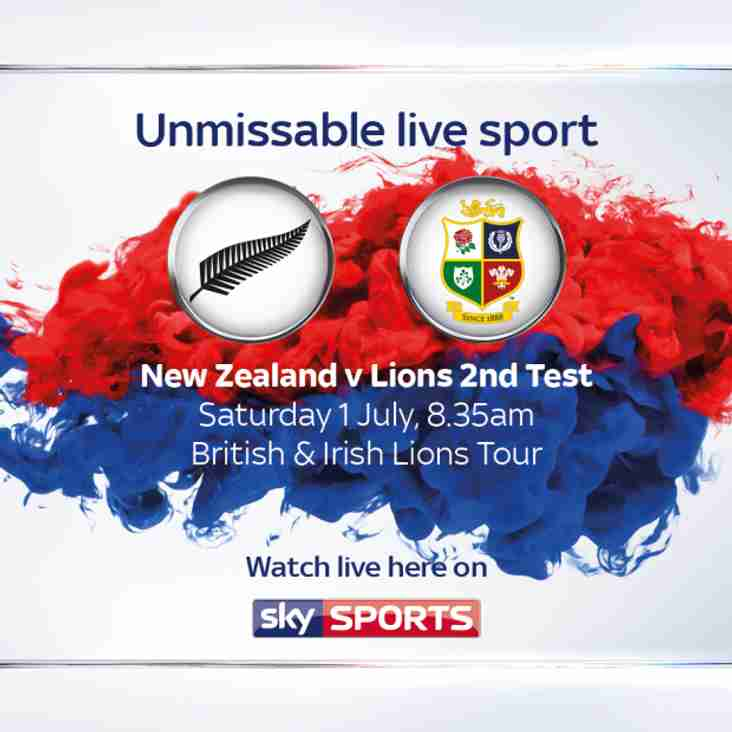 Breakfast with the Lions, 2nd Test