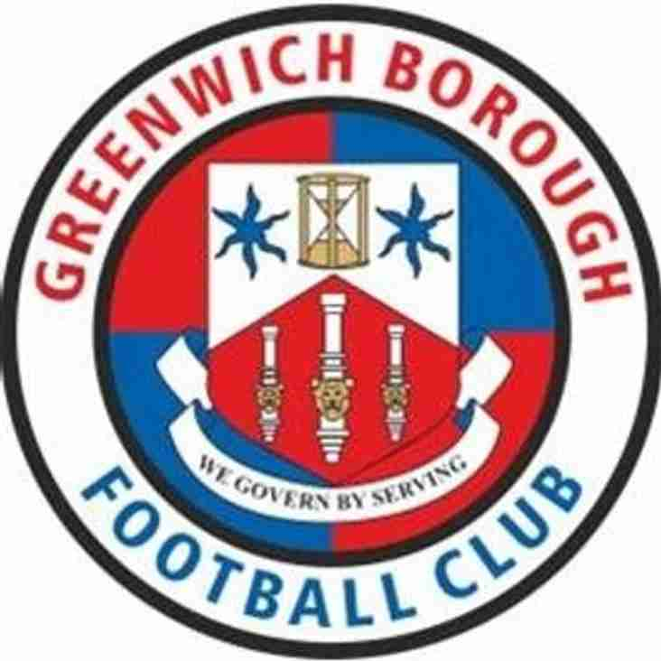 Greenwich Borough U15's looking for players