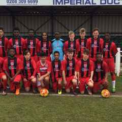Academy Boys in Cup Final Action Today