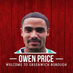 Owen Price signs for The Borough