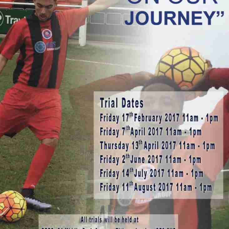 Greenwich Borough Academy Open Evening and Trials Dates
