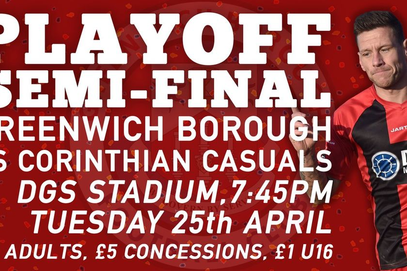 Play-Off Semi Final Date and Venue Confirmed