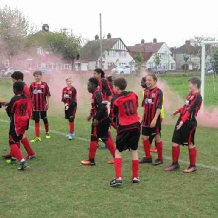 Borough U13's roar to title!