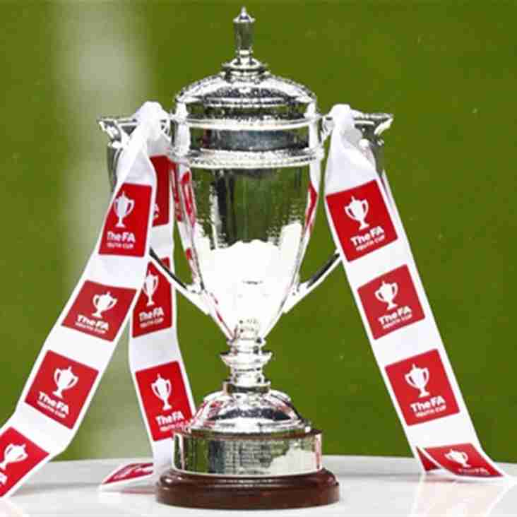 Date Confimed for Our  FA Youth Cup fixture