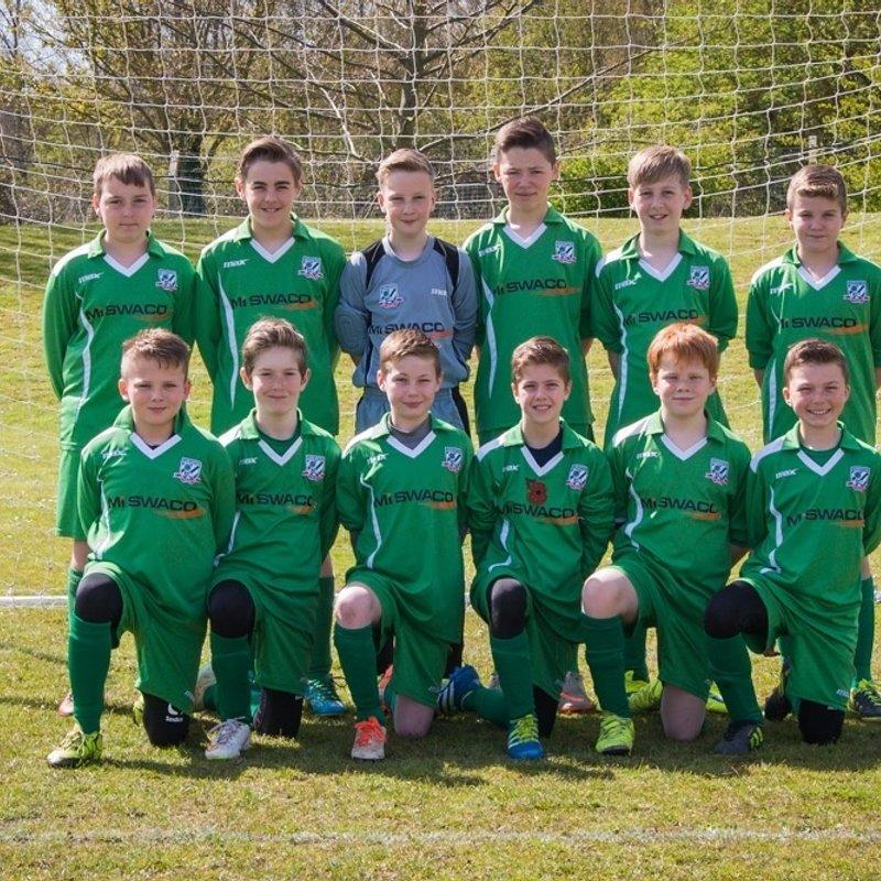 Under 13s beat FC Bradwell Brazil 0 - 1