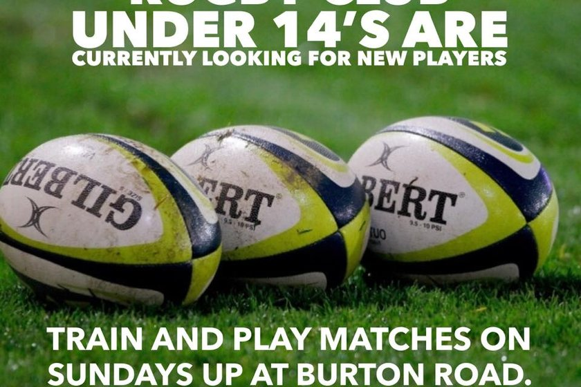 MMRFC Under 14's Are Looking For New Players